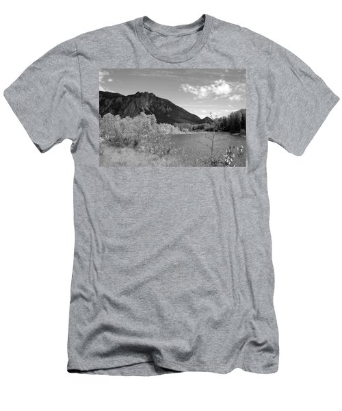 Men's T-Shirt (Slim Fit) featuring the photograph View From The River by Kathleen Grace