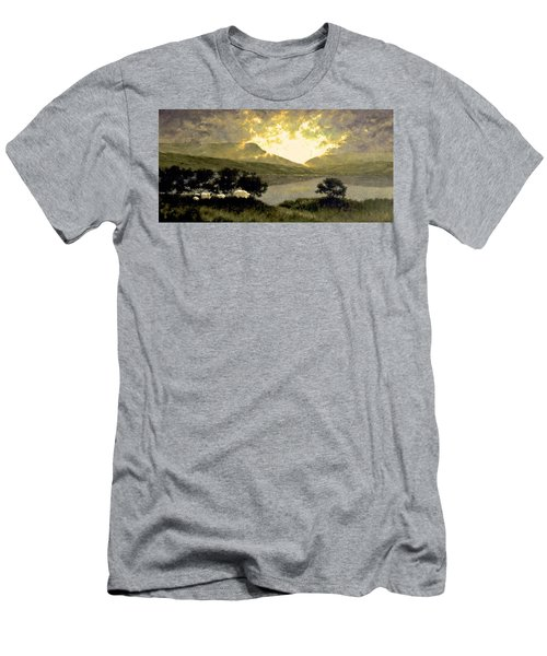 View Of Ben Bulben Men's T-Shirt (Athletic Fit)