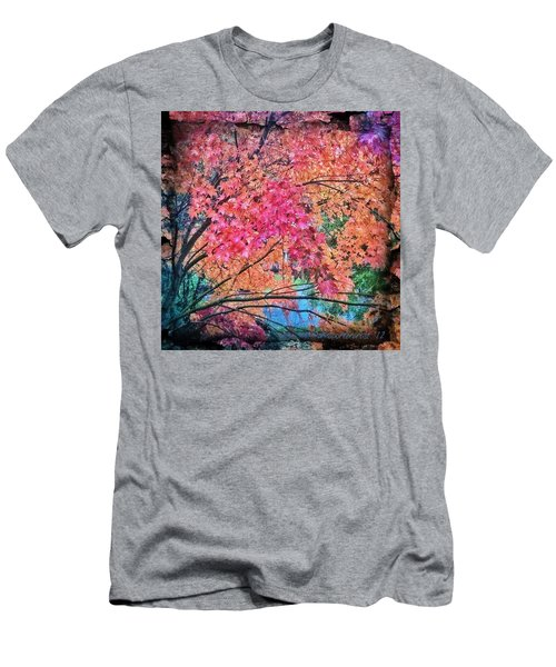 Vine Maple - Fall Color Men's T-Shirt (Athletic Fit)