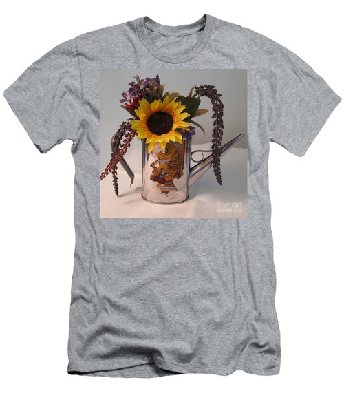 Men's T-Shirt (Slim Fit) featuring the photograph Virgin Olive Oil by Sandy McIntire