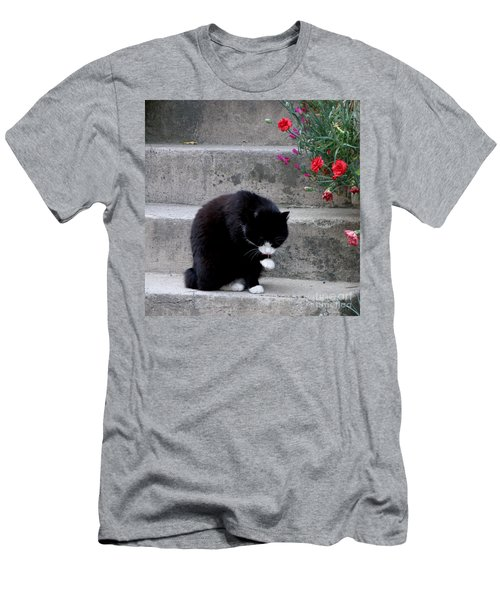 Men's T-Shirt (Slim Fit) featuring the photograph Washing Up by Lainie Wrightson
