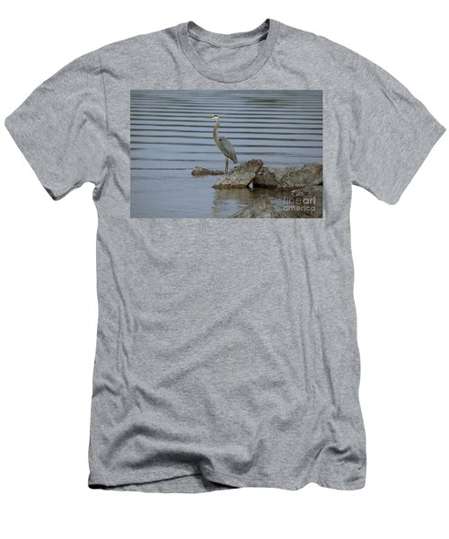 Men's T-Shirt (Slim Fit) featuring the photograph Watchful by Eunice Gibb