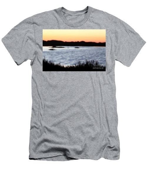 Men's T-Shirt (Slim Fit) featuring the photograph Wetland by Henrik Lehnerer