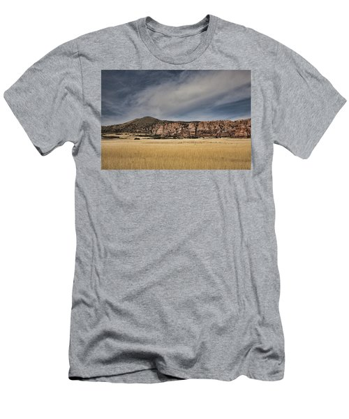 Men's T-Shirt (Slim Fit) featuring the photograph Wheatfield Zion National Park by Hugh Smith