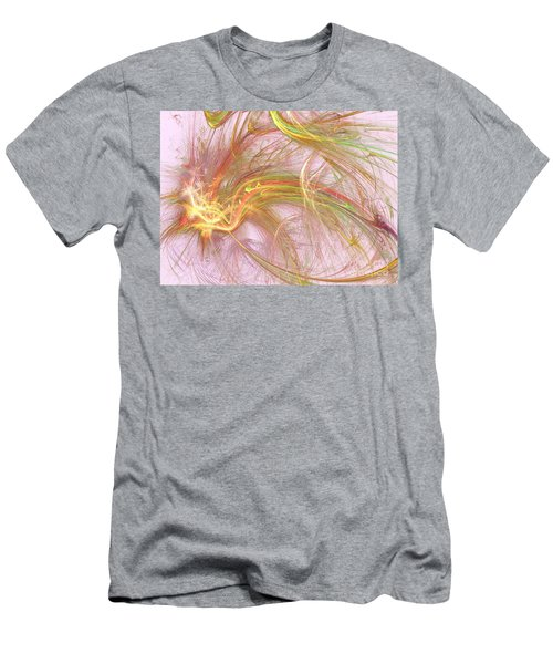 Men's T-Shirt (Slim Fit) featuring the digital art Wispy Willow by Kim Sy Ok