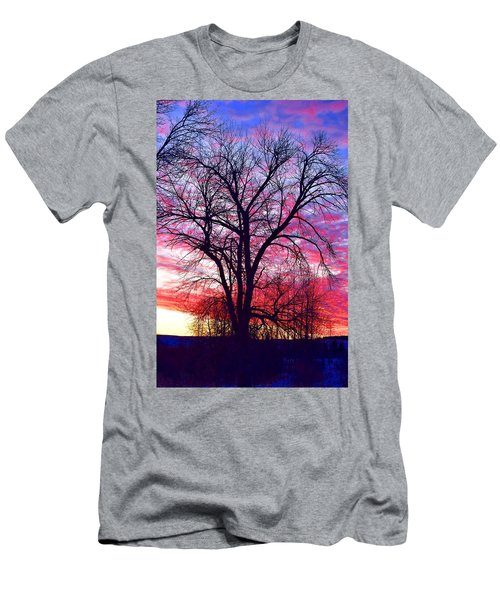 Men's T-Shirt (Slim Fit) featuring the photograph -11 Sunrise by Dacia Doroff