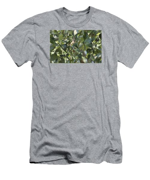 Men's T-Shirt (Slim Fit) featuring the photograph  Flight Of The Hummingbird by Debra     Vatalaro