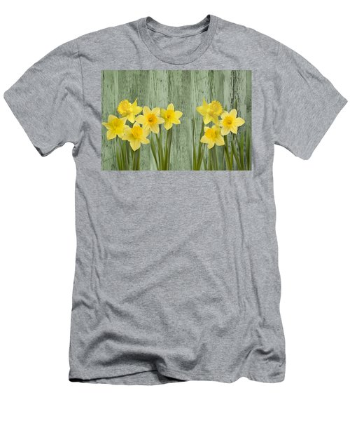 Fresh Spring Daffodils Men's T-Shirt (Athletic Fit)