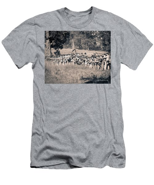 Gettysburg Confederate Infantry 9270s Men's T-Shirt (Athletic Fit)