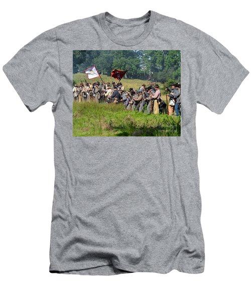 Gettysburg Confederate Infantry 9281c Men's T-Shirt (Athletic Fit)