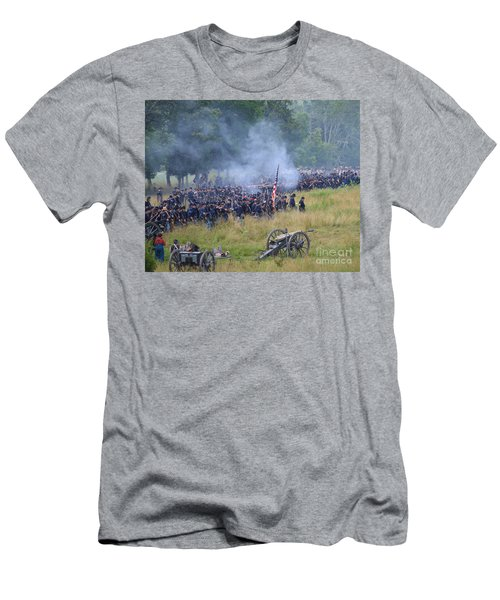 Gettysburg Union Artillery And Infantry 8456c Men's T-Shirt (Athletic Fit)