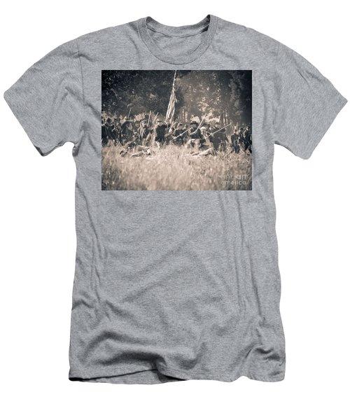 Gettysburg Union Infantry 9348s Men's T-Shirt (Athletic Fit)