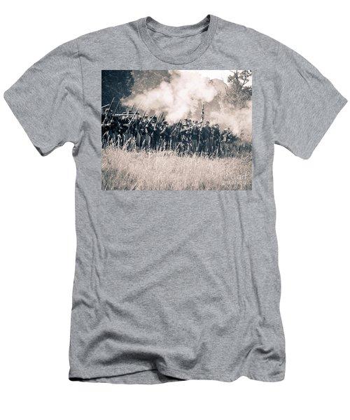 Gettysburg Union Infantry 9360s Men's T-Shirt (Athletic Fit)