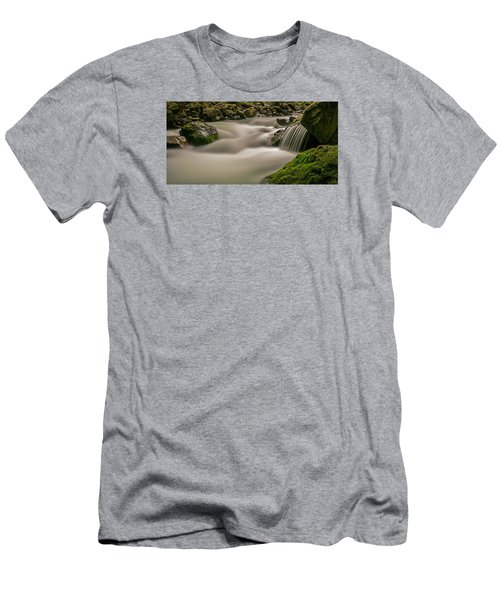 Iao Stream In The Iao Valley State Park Men's T-Shirt (Athletic Fit)