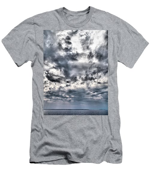 Men's T-Shirt (Slim Fit) featuring the photograph  Mental Seaview by Jouko Lehto