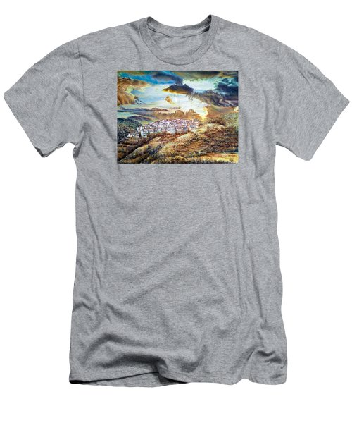 Moving Clouds Men's T-Shirt (Athletic Fit)