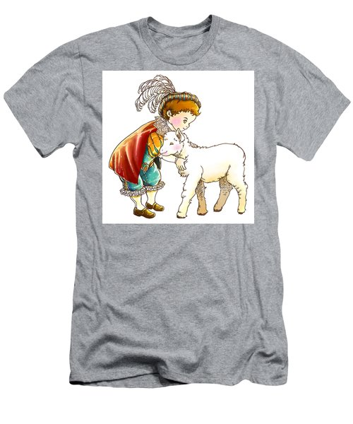 Prince Richard And His New Friend Men's T-Shirt (Slim Fit) by Reynold Jay