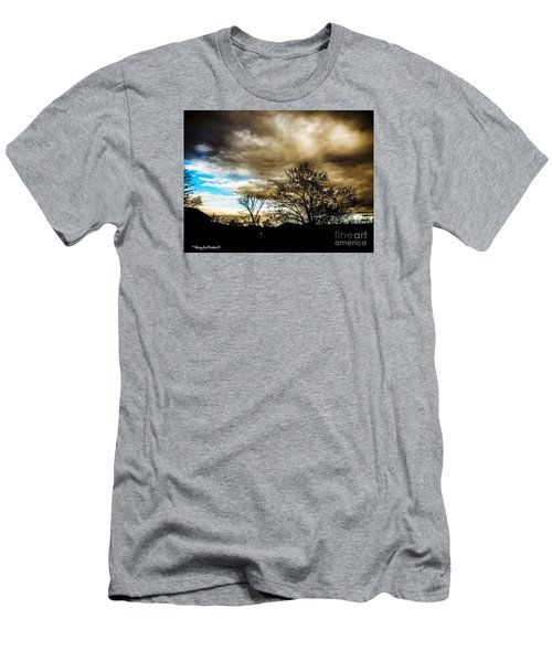 Storm  Coming  Men's T-Shirt (Slim Fit) by MaryLee Parker