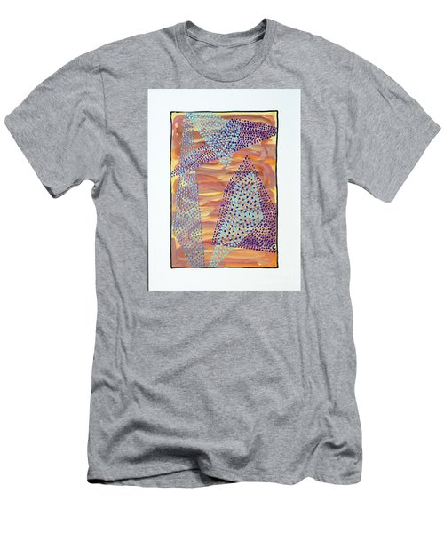01326 Men's T-Shirt (Slim Fit) by AnneKarin Glass