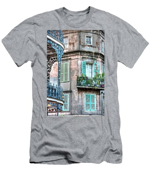 0254 French Quarter 10 - New Orleans Men's T-Shirt (Athletic Fit)