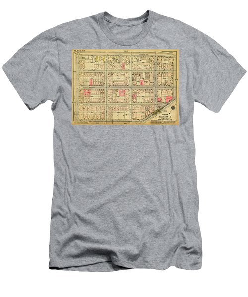 1927 Inwood Map  Men's T-Shirt (Athletic Fit)
