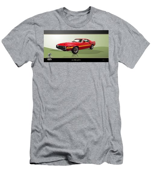 1969 Shelby V8 Gt350  Men's T-Shirt (Athletic Fit)