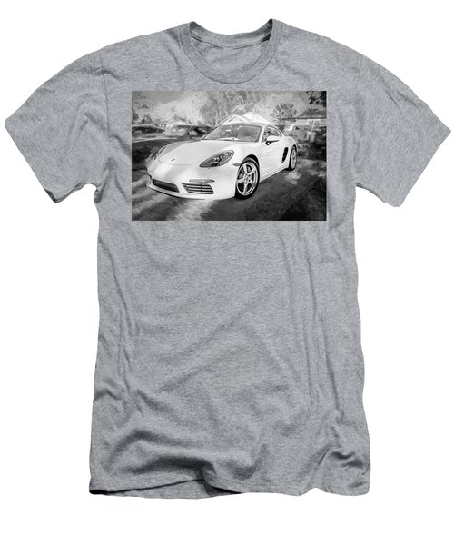 2017 Porsche Cayman 718 S  Bw    Men's T-Shirt (Athletic Fit)