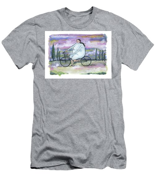 A Beautiful Day For A Ride Men's T-Shirt (Slim Fit) by Leanne WILKES