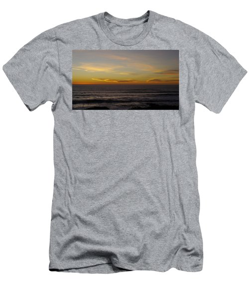 Men's T-Shirt (Slim Fit) featuring the photograph A Sunset by Alex King
