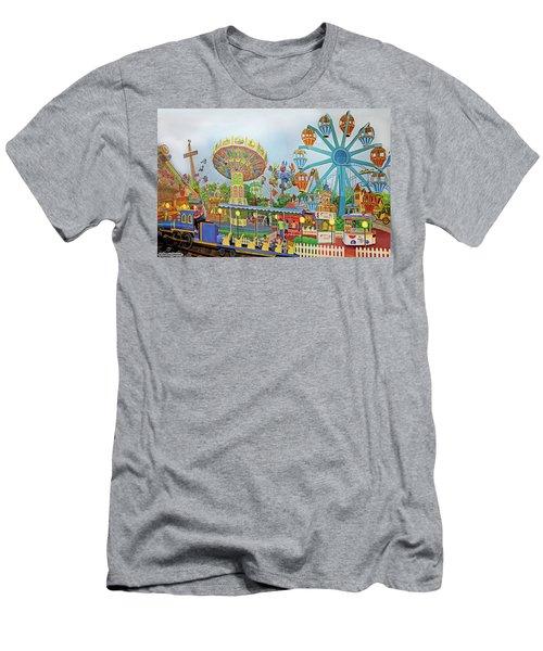 Adventureland Men's T-Shirt (Athletic Fit)