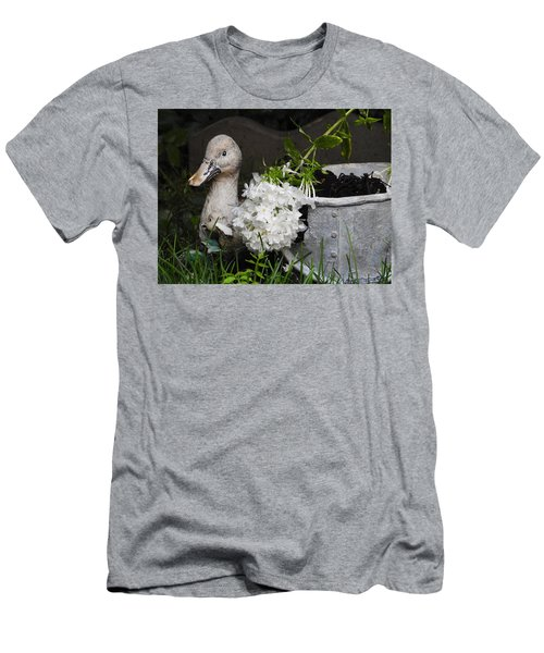 Men's T-Shirt (Slim Fit) featuring the photograph After The Rain by Betty-Anne McDonald