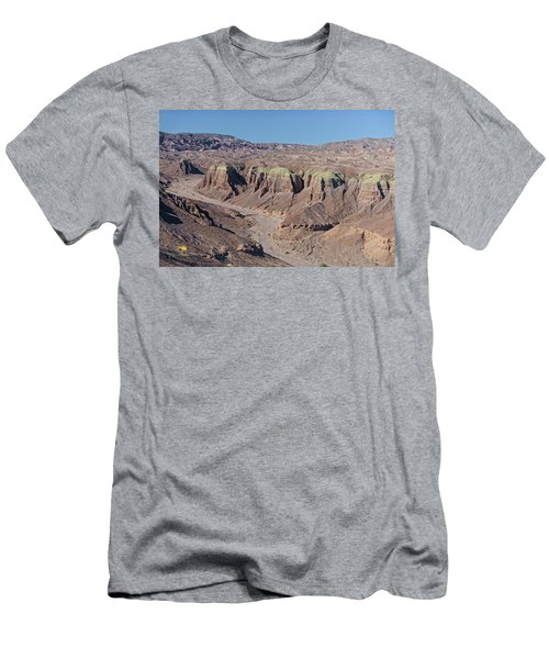 Men's T-Shirt (Athletic Fit) featuring the photograph Afton Canyon by Jim Thompson