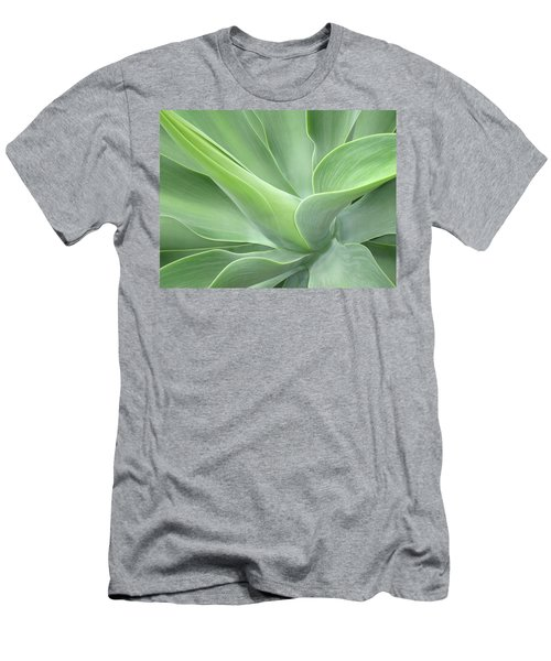 Agave Attenuata Abstract Men's T-Shirt (Athletic Fit)