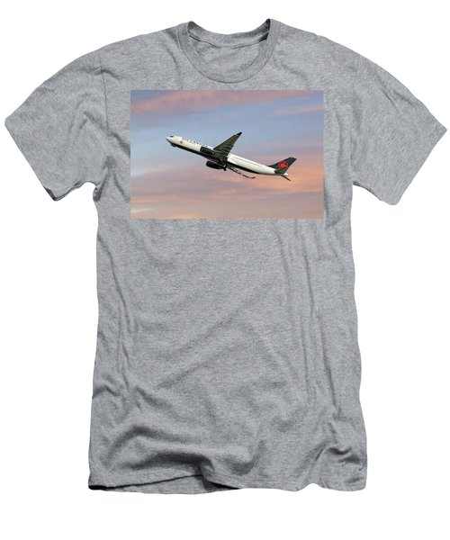 Air Canada Airbus A330-343 Men's T-Shirt (Athletic Fit)