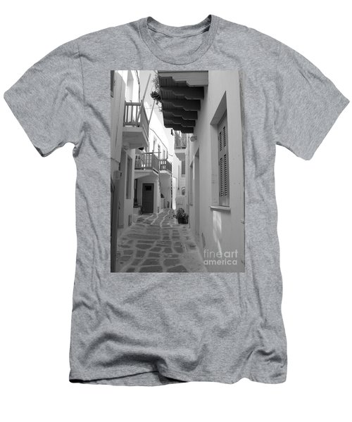 Alley Way Men's T-Shirt (Athletic Fit)