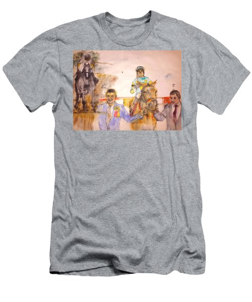 American Pharaoh Abum Men's T-Shirt (Slim Fit) by Debbi Saccomanno Chan