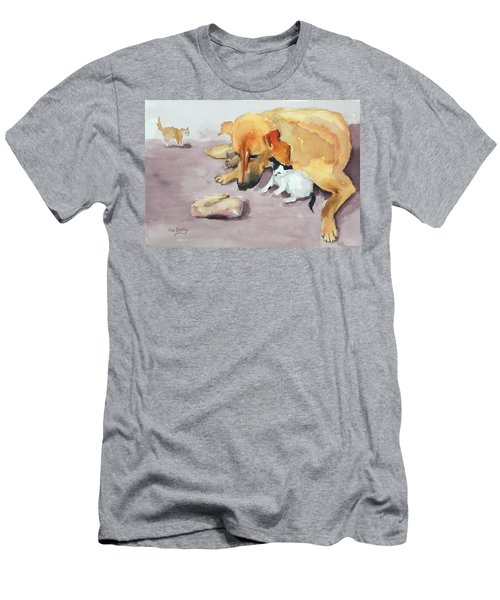 Amira And Junior Men's T-Shirt (Athletic Fit)