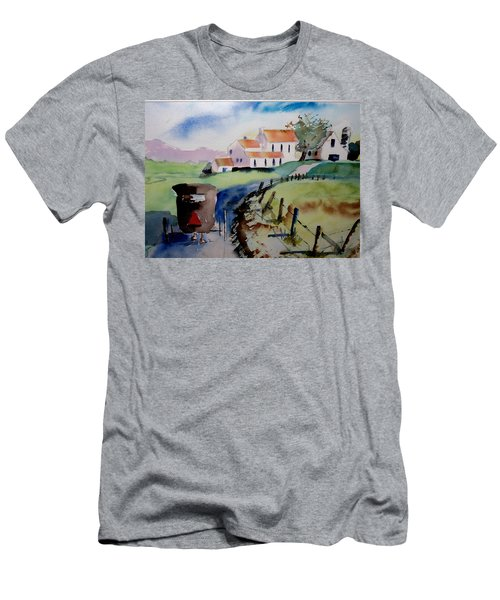 Amish Buggy Ride Men's T-Shirt (Athletic Fit)