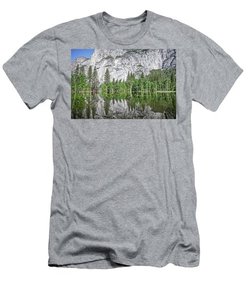 Amplitude Men's T-Shirt (Slim Fit) by Ryan Weddle