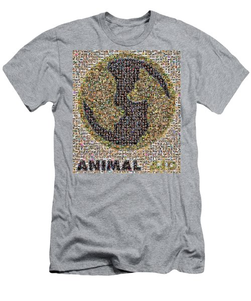Animal Aid 2017  Men's T-Shirt (Athletic Fit)