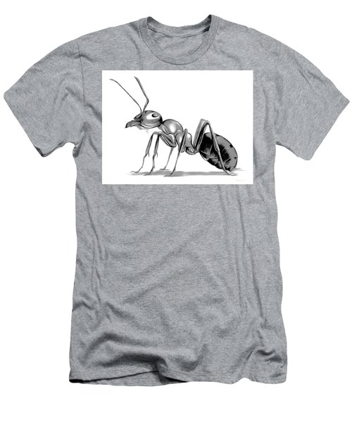 Ant Men's T-Shirt (Slim Fit) by Greg Joens