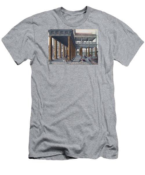 Architectural Caprice With Figures Men's T-Shirt (Slim Fit) by Hans Vredeman de Vries