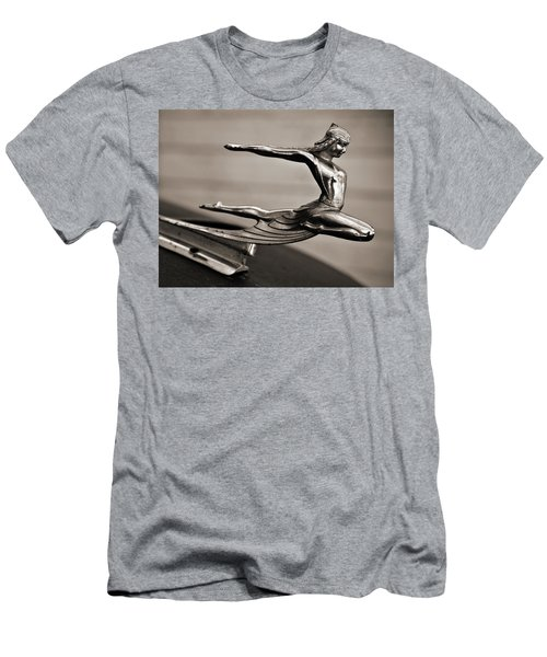 Art Deco Hood Ornament Men's T-Shirt (Slim Fit) by Marilyn Hunt