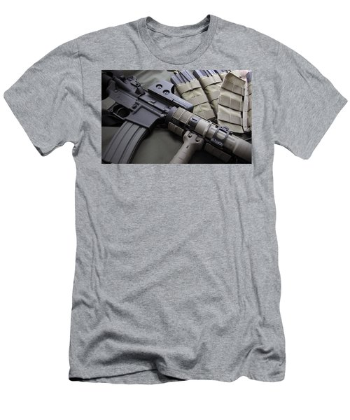 Assault Rifle Men's T-Shirt (Athletic Fit)