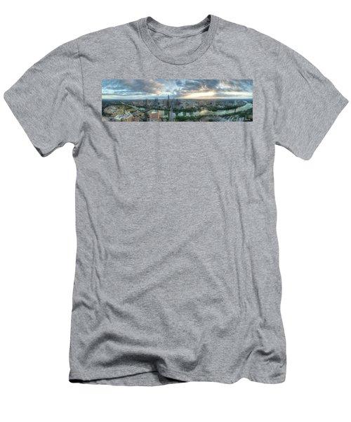 Austin Cityscape Men's T-Shirt (Athletic Fit)
