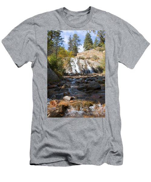 Autumn At Helen Hunt Falls Colorado Men's T-Shirt (Athletic Fit)