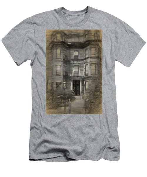 Back Bay Boston Men's T-Shirt (Athletic Fit)