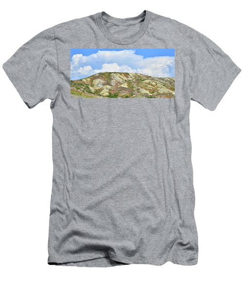 Badlands In Wyoming Men's T-Shirt (Athletic Fit)