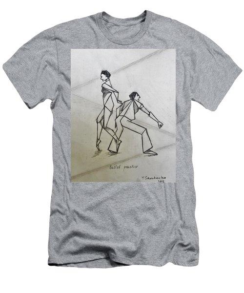 Ballet Practice Men's T-Shirt (Athletic Fit)