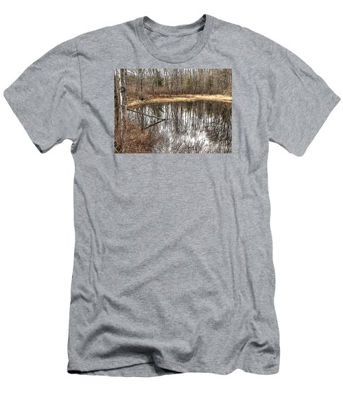 Men's T-Shirt (Slim Fit) featuring the photograph Bare Bones by Betsy Zimmerli